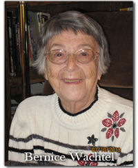 Bernice Wachtel